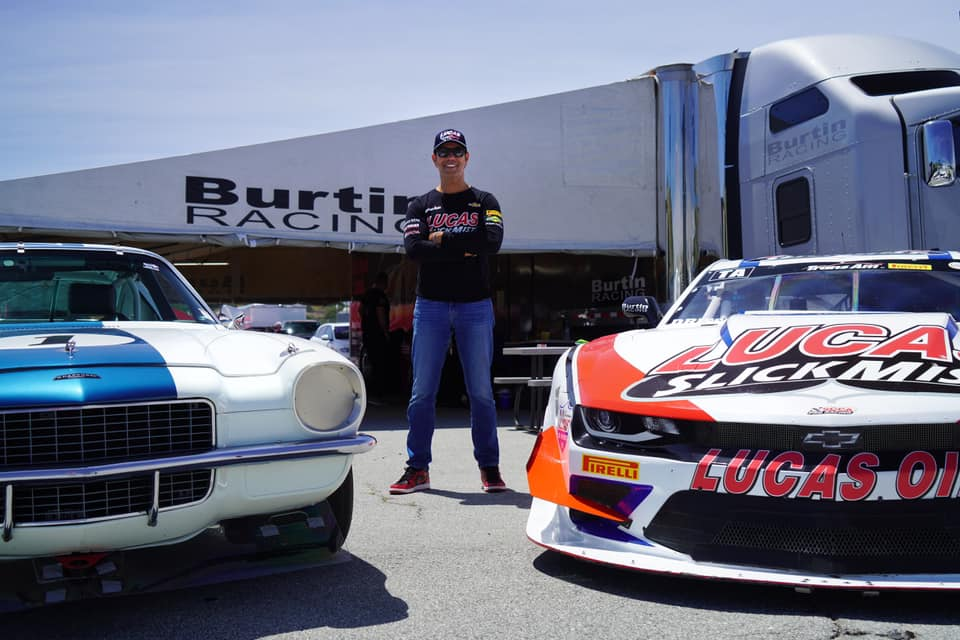 Lucas SlickMist Driver Tomy Drissi Wins Both Races In Double Duty At Laguna Seca Weekend