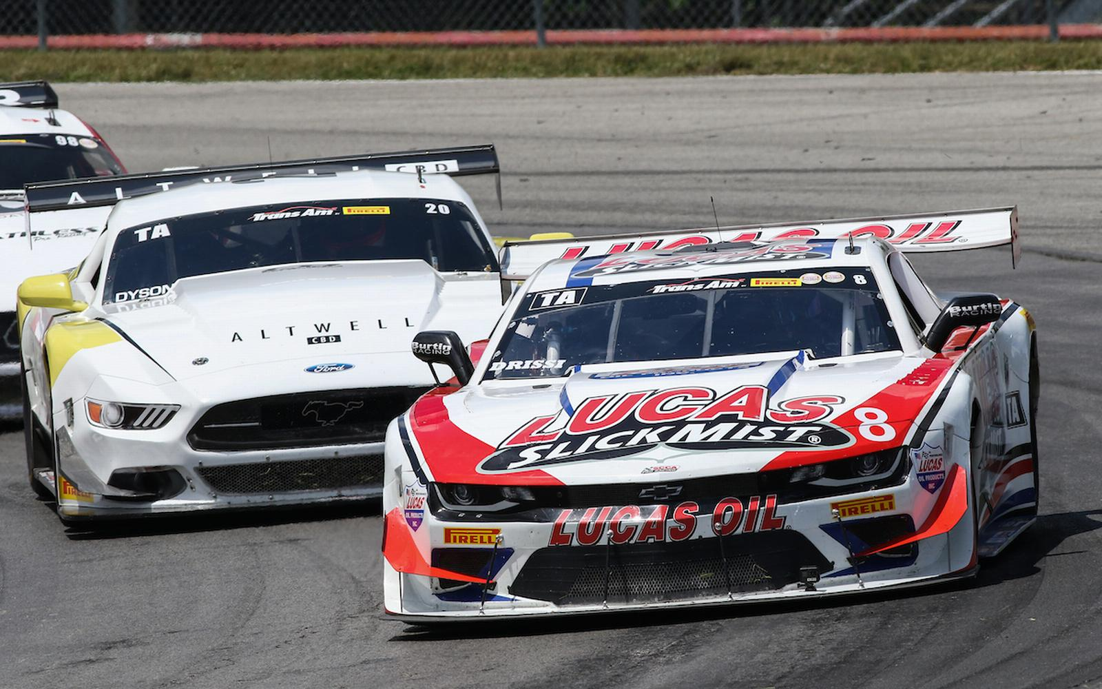 Lucas SlickMist Driver Tomy Drissi Celebrates Fourth Consecutive Podium at Mid-Ohio Sports Car Course