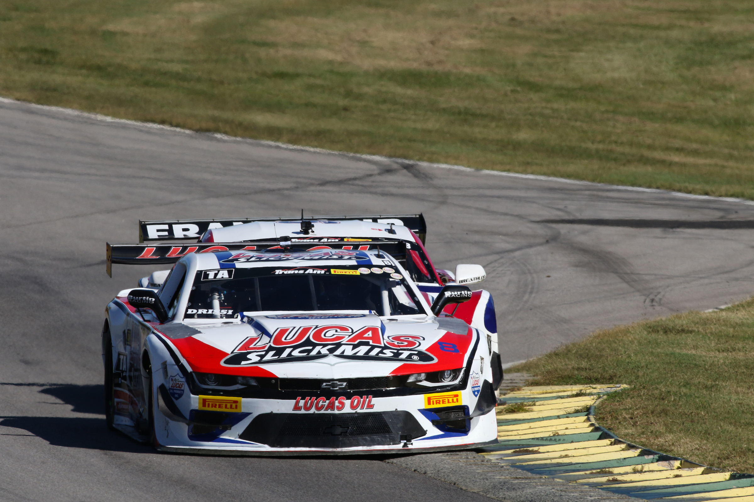 Lucas SlickMist Driver Tomy Drissi Watches Championship Slip Away as He Retires Early at Virginia International Raceway