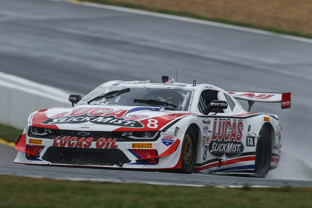 Lucas SlickMist Driver Tomy Drissi Runs Double Duty With Trans Am And SVRA at Laguna Seca