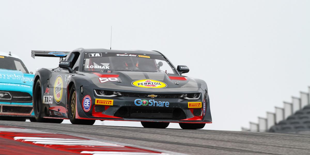Burtin Racing and Loshak Make for Successful Podium Debut in Texas