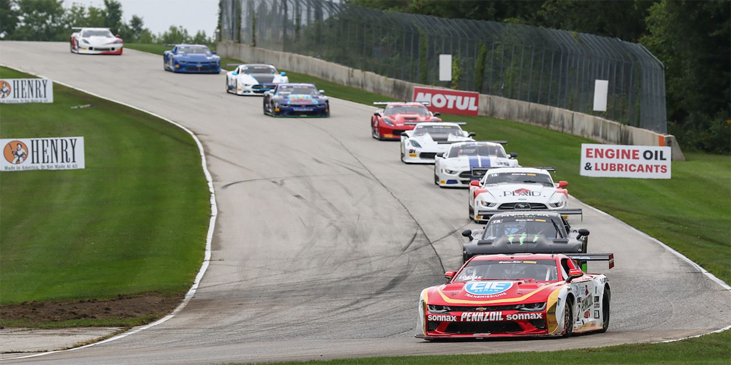Burtin Racing looking ahead after misfortune hits home for Loshak and Drissi fights all the way at Road America
