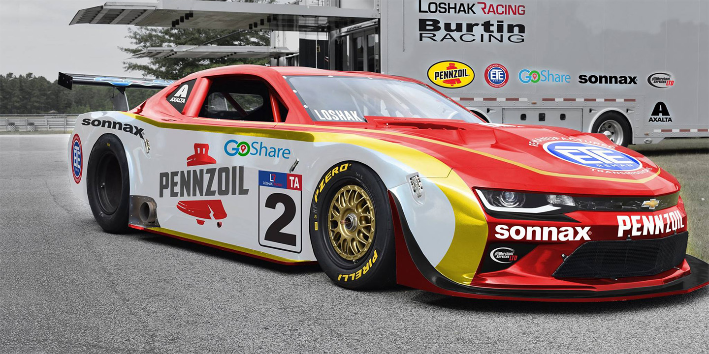Burtin Racing teams up with Loshak Racing for the 2018 Trans Am TA Championship