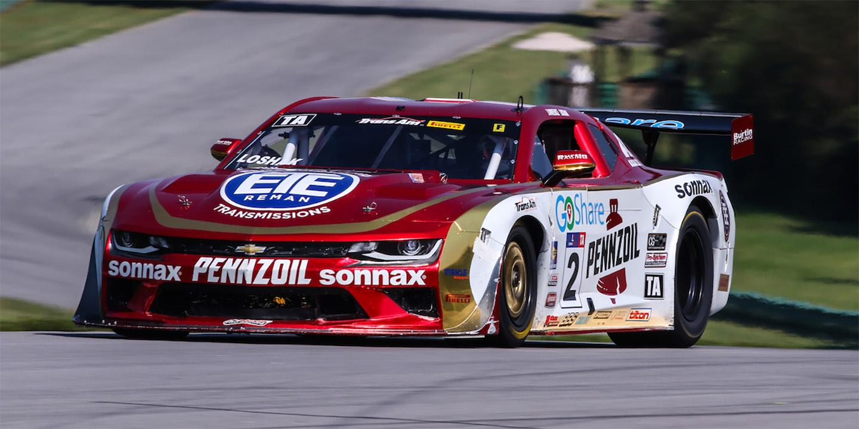 Burtin Racing win at VIR on perfect weekend for record breaking Loshak