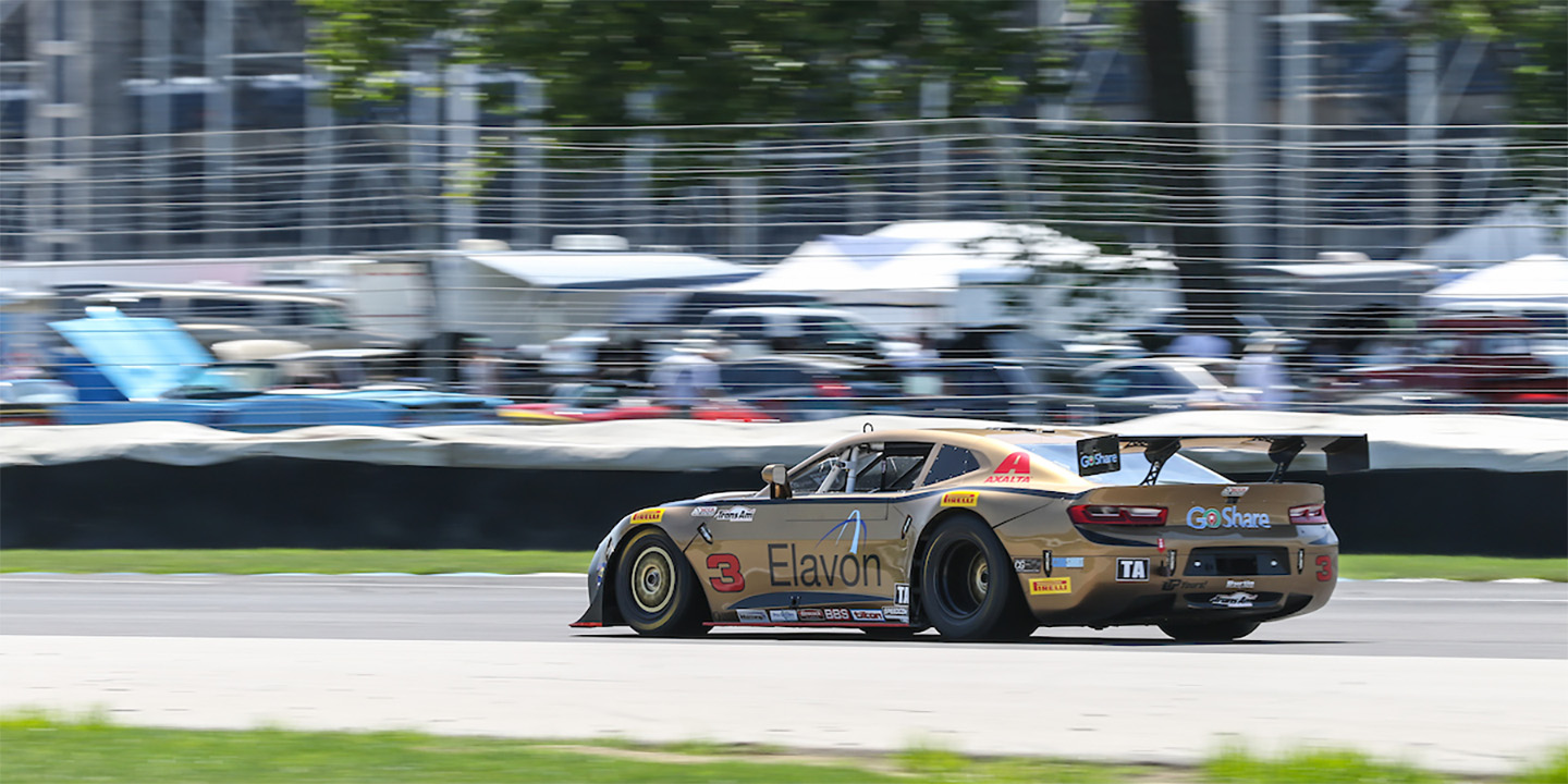 Burtin Steps Into the Action but Comes Short of Top Finish