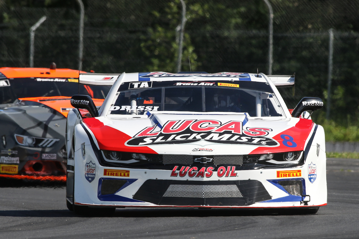 Tomy Drissi Looking To Put the Lucas SlickMist Camaro Back In First Place At Brainerd