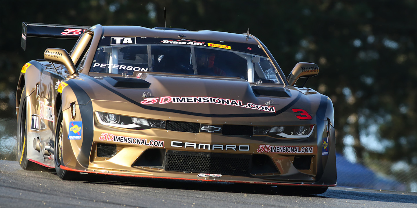 Early Finish for Peterson and Burtin Racing at Mid-Ohio