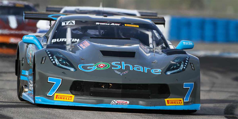 GoShare Corvette Ready for Burtin Racing Atlanta Homecoming