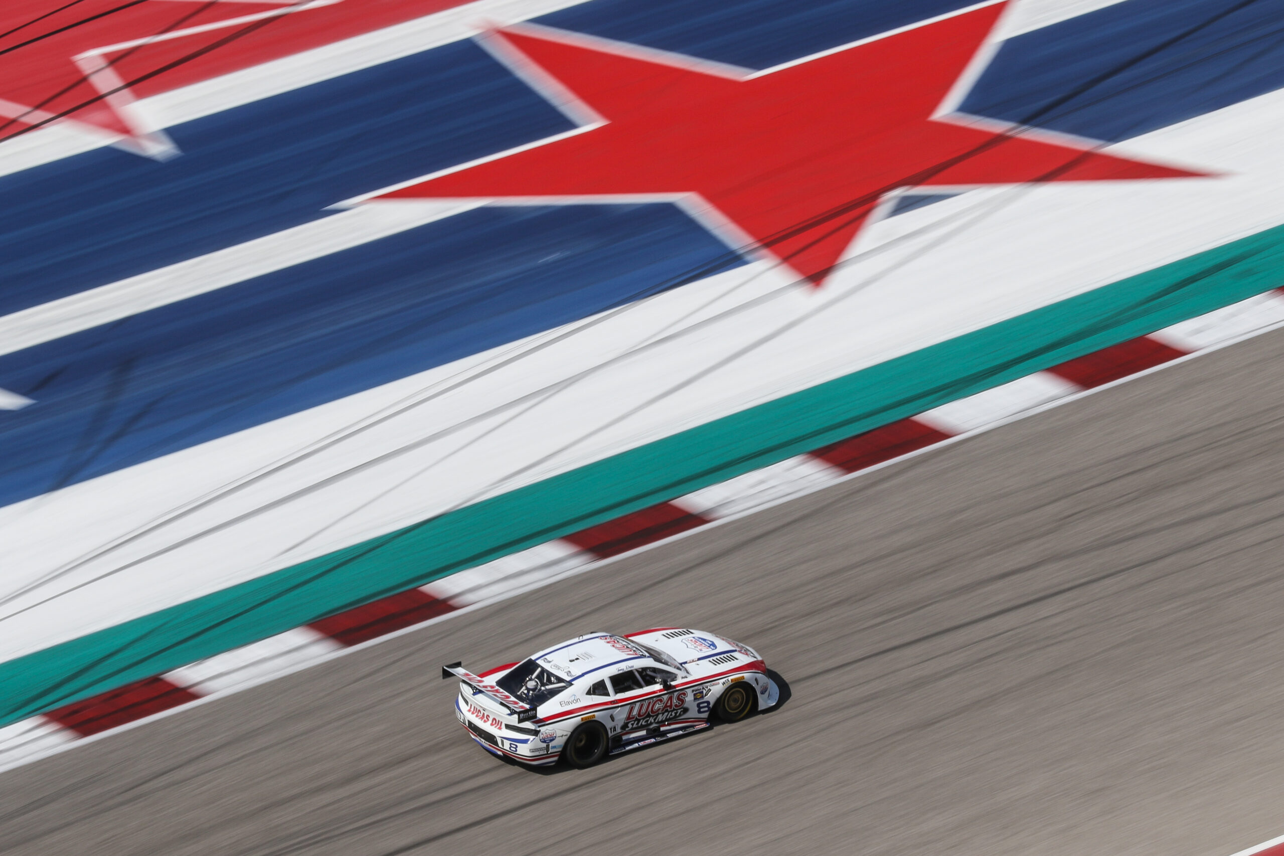 Lucas SlickMist Driver Tomy Drissi Saddled Up for Some Texas Speed at Circuit of Americas