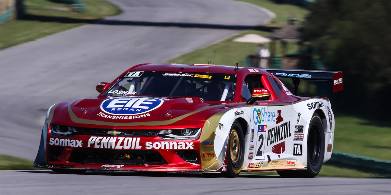 Record Breaking Loshak Eyes Trans Am Championship Glory in Burtin Racing Chevrolet Camaro